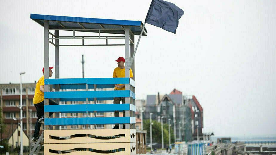 Алиханов поручил увеличить рабочий день спасателей на морских пляжах - Новости Калининграда | Фото: архив «Клопс»