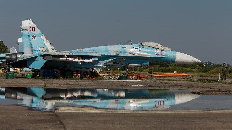 Су-27 сопроводил немецкий истребитель над Балтийским морем - Новости Калининграда | Фото: Александр Подгорчук