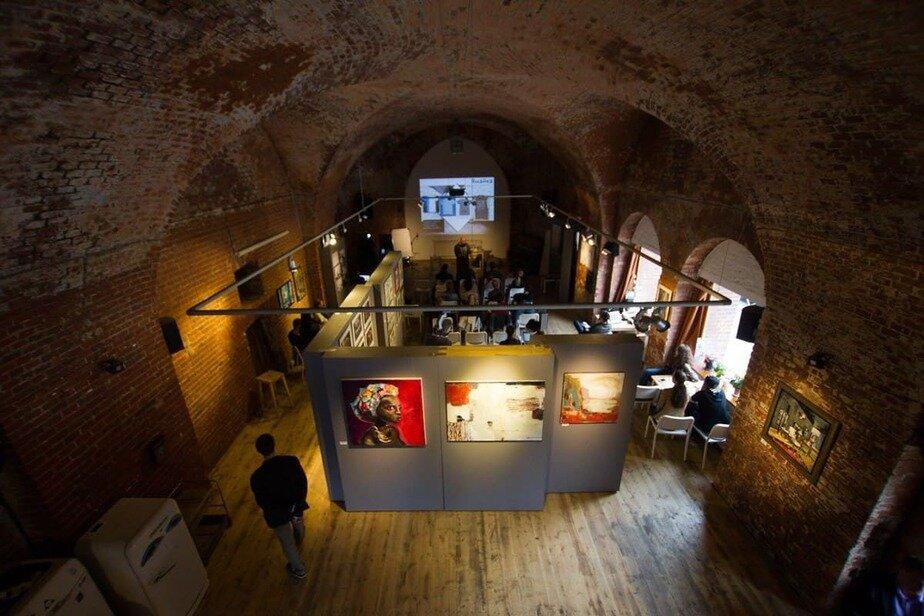 Элемент экспозиции в арт-пространстве «Ворота» | Фото: архив «Клопс»