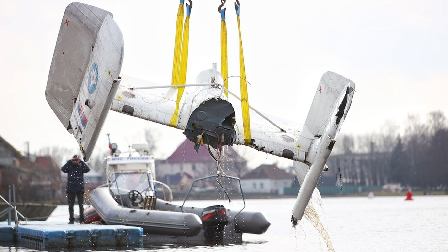 Названа предварительная причина падения вертолёта МЧС в Куршский залив - Новости Калининграда   Фото: архив «Клопс»