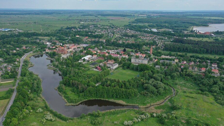 Река Правда в г. Правдинске
