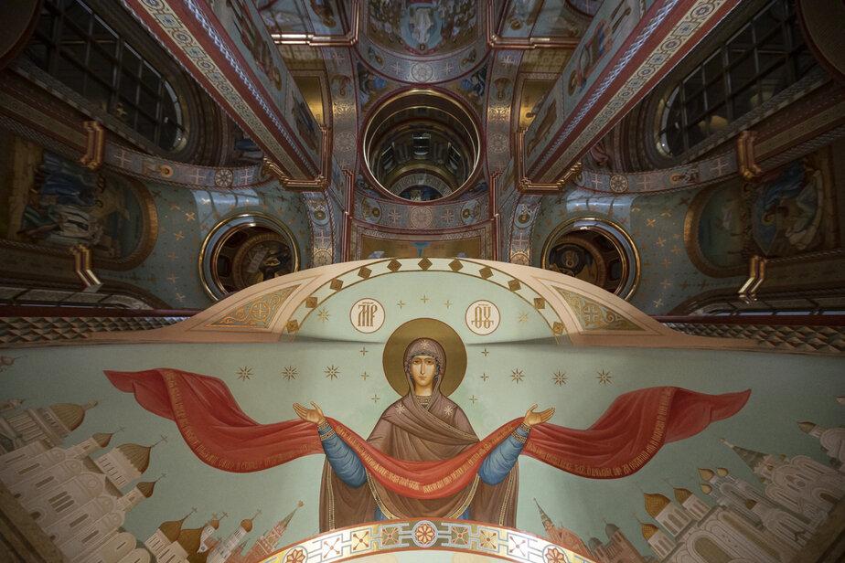 Внутреннее убранство Кафедрального собора Христа Спасителя | Фото: архив «Клопс»