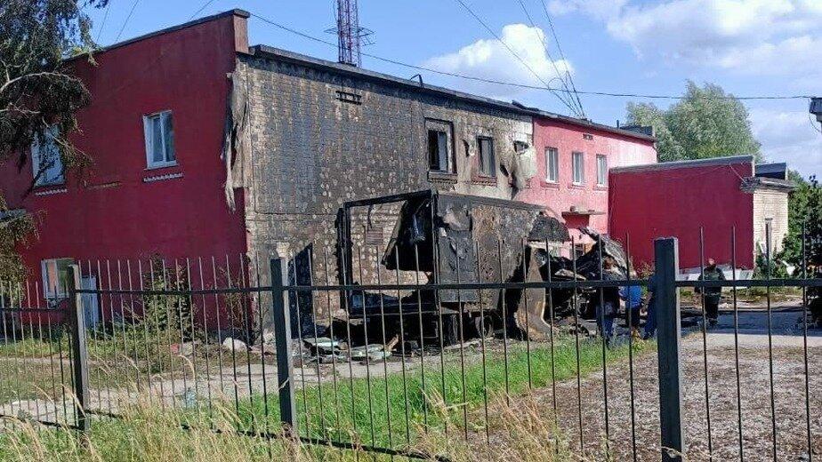 В Балтийске рядом с жилыми домами произошёл взрыв (дополнено) - Новости Калининграда | Фото: «Клопс»
