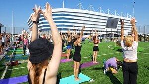 Тренировка на современном покрытии: чем можно позаниматься в спортивном парке на стадионе «Калининград»