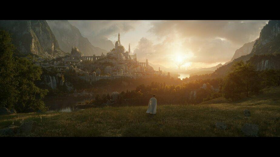 Опубликован первый кадр самого дорогого сериала в истории кино - Новости Калининграда   Фото: со страницы The Lord of the Rings on Prime в Twitter