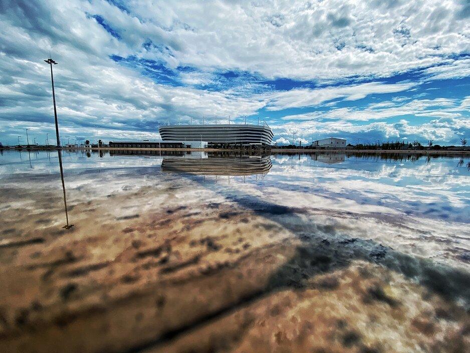 Фото дня: последствия дождя в Калининграде