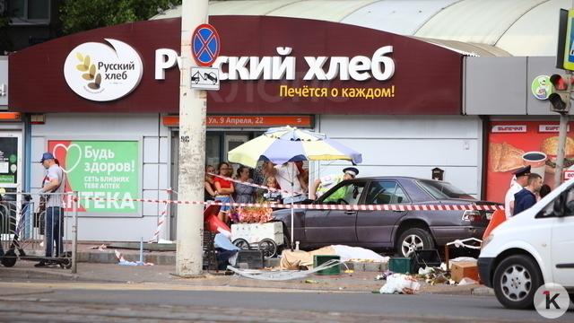 Фоторепортаж с места смертельного ДТП на Фрунзе