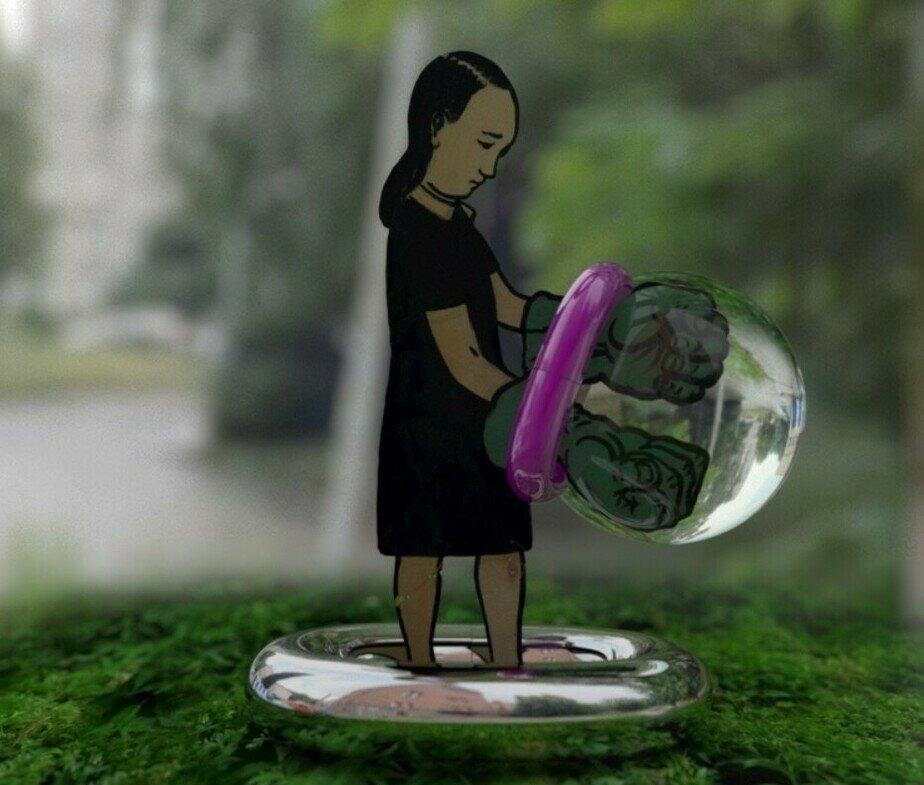 Элемент выставки «Нереальная реальность» | Фото: ГЦСИ (Калининград)