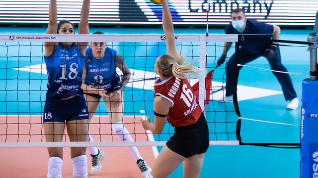 В Калининграде с 14 по 18 сентября пройдёт предварительный этап Кубка России по волейболу (расписание матчей)