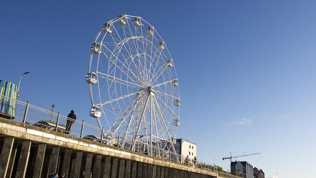 Прокуратура проверяет «Глаз Балтики» в Зеленоградске после сообщений о раскачивающихся от ветра кабинках
