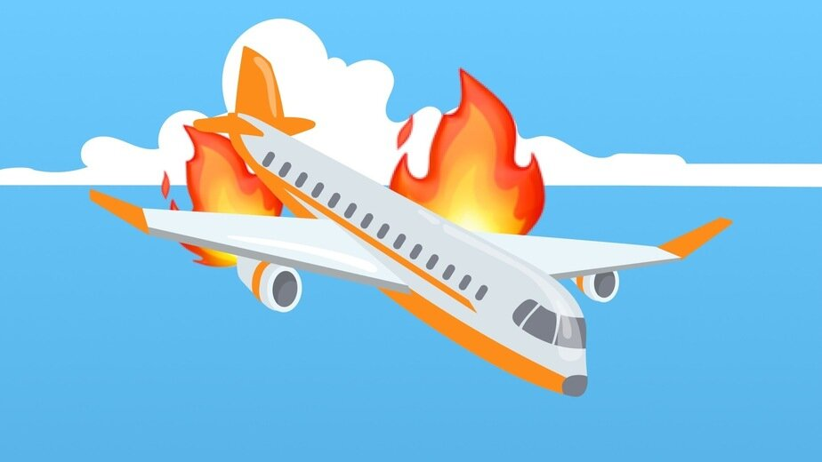 «Желудок прилип к мозгам»: 6 историй калининградцев, которые боятся самолётов - Новости Калининграда | Иллюстрация: Глеб Бобыльков