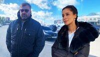 Актёры Михаил Пореченков и Равшана Куркова приехали в Храброво на съёмки сериала «Чайки»