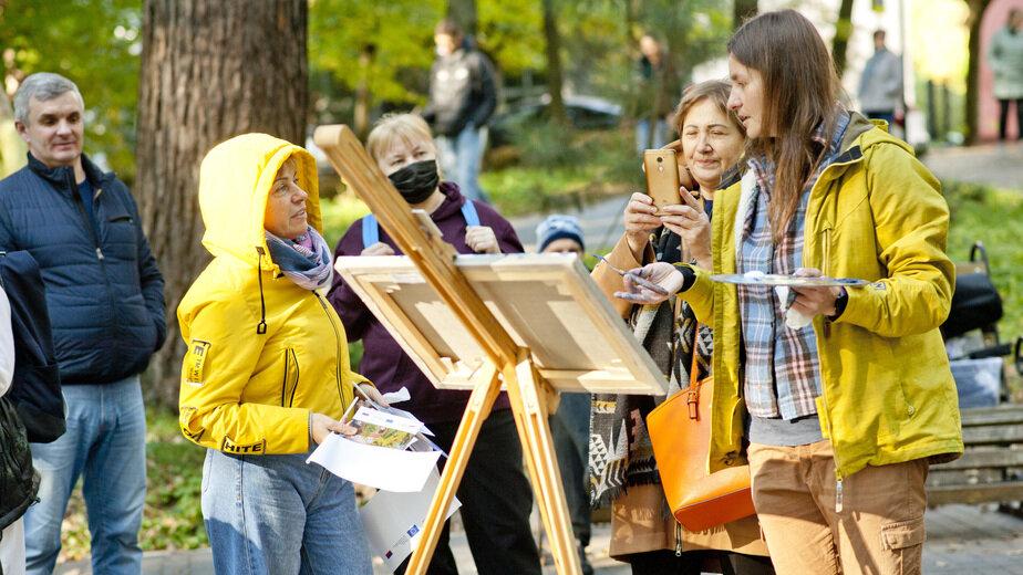 В Лиственничном парке Светлогорска прошёл первый Международный онлайн арт-фестиваль - Новости Калининграда
