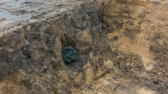 На месте будущей дороги под Калининградом нашли могилы всадников с конями