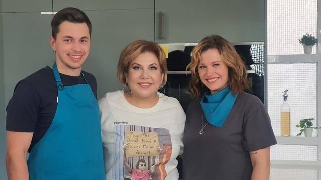 Калининградская семья снялась в кулинарном шоу и познакомилась с актрисой Мариной Федункив