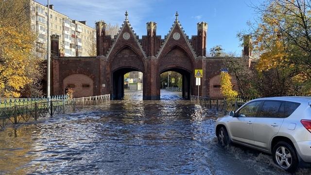Потоп в центре Калининграда и ДТП со скорой: что случилось в выходные