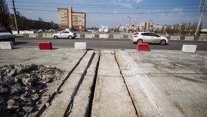 В Калининграде ограничат скорость движения по эстакадному мосту
