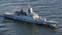 Корвет «Сообразительный» «отразил» торпедную атаку в Балтийском море