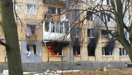 В Балтийске произошёл взрыв в пятиэтажке