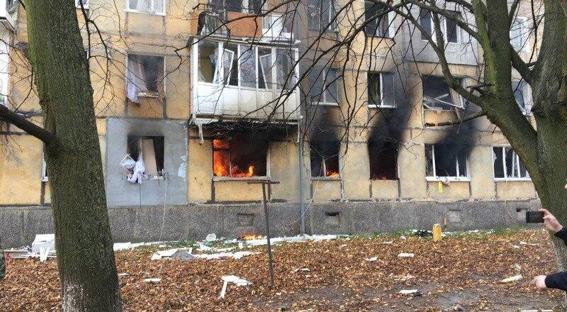 Взрыв в пятиэтажном жилом доме в Балтийске