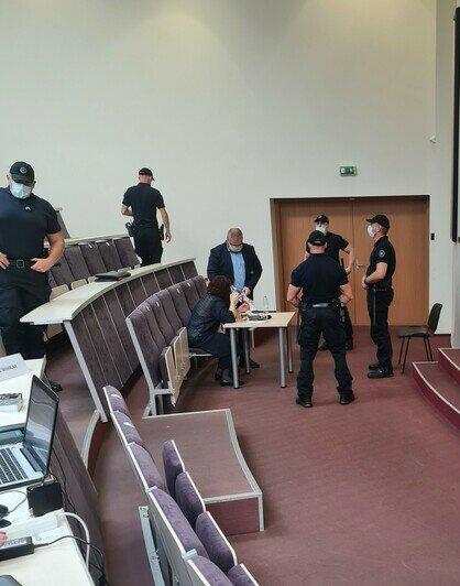 Судебный процесс | Фото: предоставил Ришардас Бурда