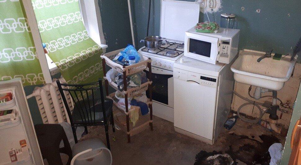Квартира на Старопрегольской, где нашли тела Марины и Артёма | СУ СК России по Калининградской области