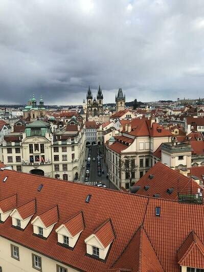 Старый город в Праге с обзорной площадки | Фото: Валерия Клименко