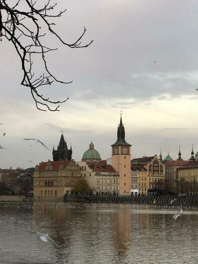 Вид на старый город в Праге | Фото: Валерия Клименко