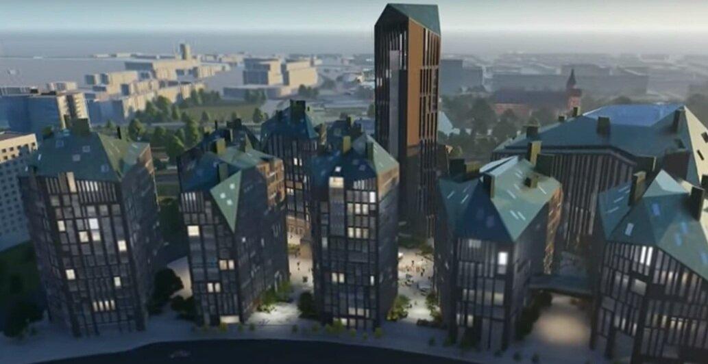 Высотная гостиница: что предлагают построить на месте Дома Советов (эскизы) - Новости Калининграда | Эскизы — «Студии 44»