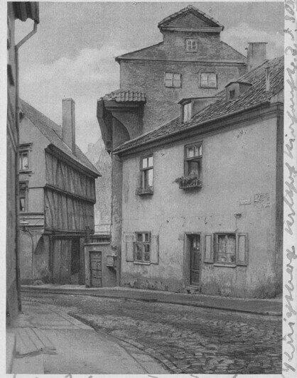 Улица Суконщиков в Лёбенихте | Фотографии с открыток начала XX века