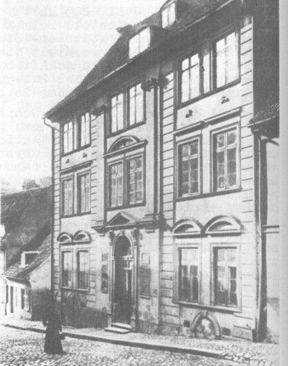 Пивоварня в Лёбенихте на улице Суконщиков  | Фотографии с открыток начала XX века