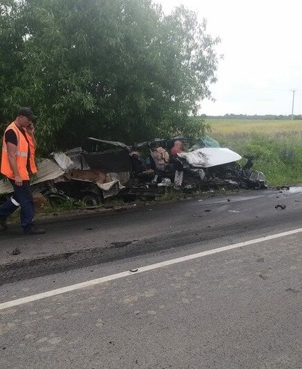 Место аварии   Фото: очевидец