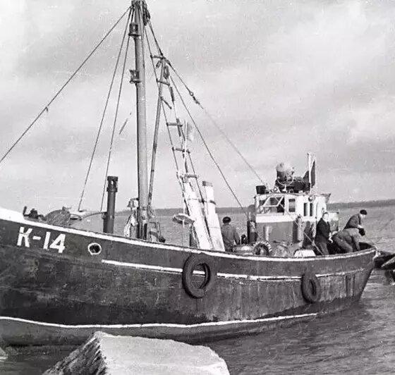 Рыбаки в Куршском заливе  | Фото: Калининградский областной историко-художественный музей