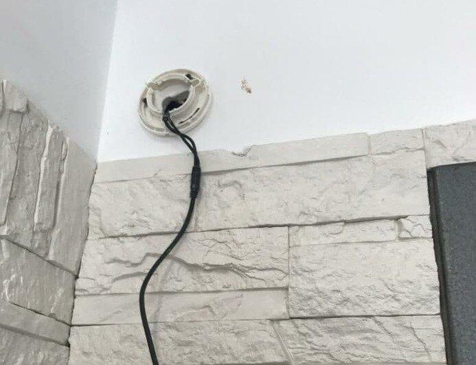 В офисе выломали камеры наблюдения и уничтожили систему охраны | Фото: предоставлено пострадавшими по уголовному делу