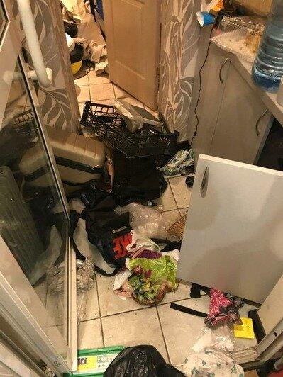 Разрушения в помещениях магазина сразу после обыска | Фото: предоставлено пострадавшими по уголовному делу