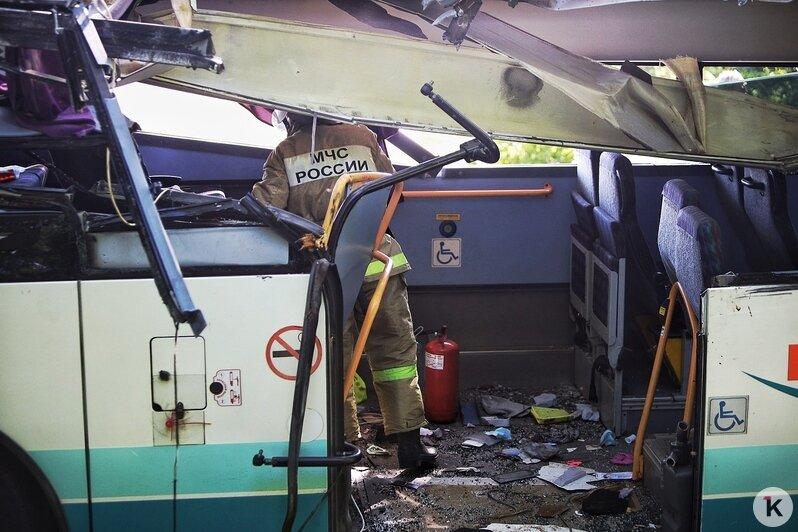 11 человек в больнице, четверо — в тяжёлом состоянии: главное о ДТП с пассажирским автобусом под Янтарным - Новости Калининграда | Фото Александра Подгорчука