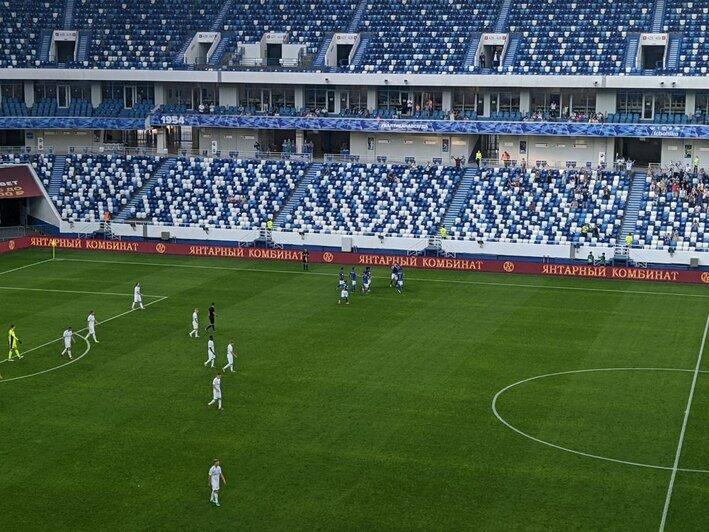 «Балтика» не смогла обыграть «Оренбург» в домашнем матче - Новости Калининграда | Фото: Павел Будников