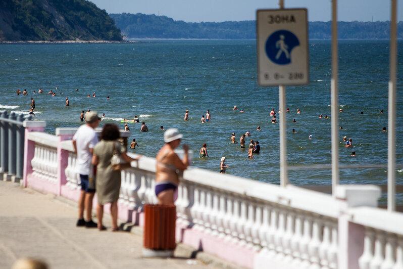 Фото дня: на пляже Светлогорска - Новости Калининграда | Александр Подгорчук / «Клопс»