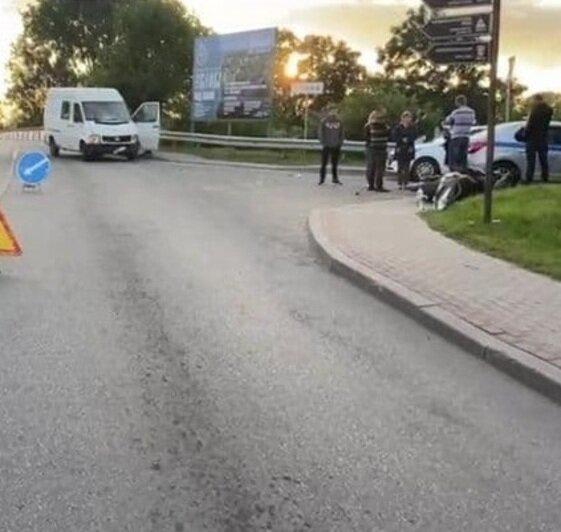 «Я в шоке, не спал всю ночь»: водитель — о ДТП в Знаменске, после которого впал в кому скутерист   - Новости Калининграда   Фото: пресс-служба регионального УМВД