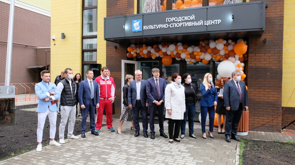 В Калининграде открыли новый культурно-спортивный центр (фото) - Новости Калининграда | Фото предоставлено администрацией Калининграда