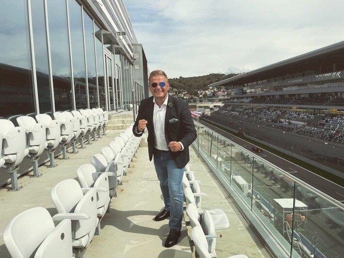 Калининградский шоумен стал официальным ведущим «Формулы-1» - Новости Калининграда   Фото из личного архива героя