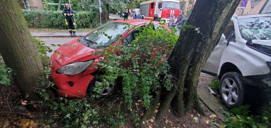 В Зеленоградске Lexus сбил столб, который затем упал в окно квартиры (фото) - Новости Калининграда | Очевидец