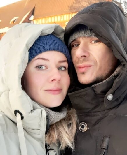 На фото: Карина и Евгений