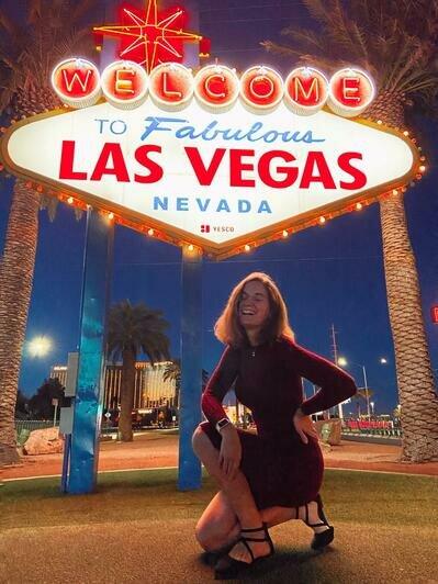 Виктория Милянтей во время путешествия по городам США | Фото: личный архив