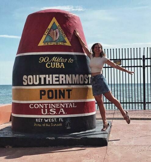 Виктория Милянтей путешествует по США | Фото: личный архив