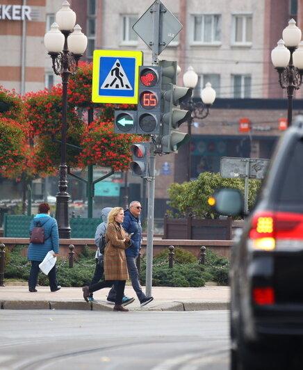 На площади Победы новая схема движения запутала водителей (видео) - Новости Калининграда | Фото: Александр Подгорчук / «Клопс»